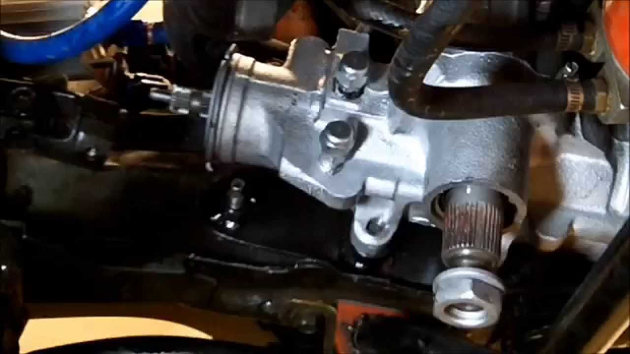 How To Replace Steering Gear Box Amp Reinforcement Plates On A Jeep Cherokee Xj Youtube