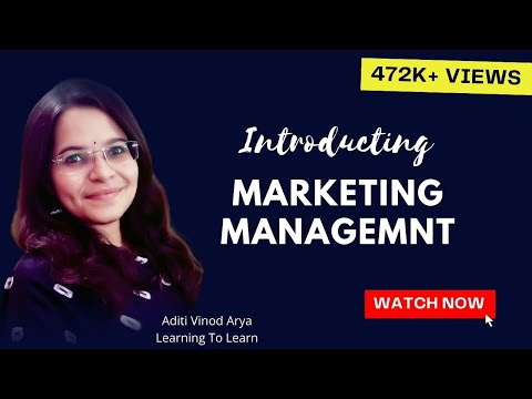 Marketing Management Part-1 (In Hindi)