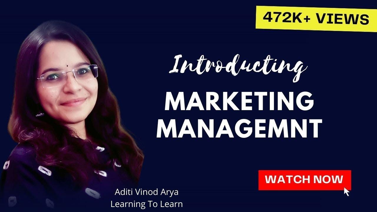 Marketing Management Part-1 (In Hindi)
