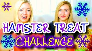 Hamster TREAT Challenge + Bloopers | Featuring Sister Rouche Thumbnail