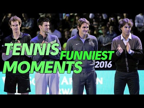 Thumbnail: Tennis Funny Moments 2016 | Best Tennis Flops | Federer - Djokovic - Nadal - Trump | US Open