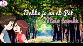 Tera Fitoor 😙😍|| Best WhatsApp status video ||MP3 Song by Arijit Singh