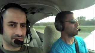 Flying in the Diamond DA-40