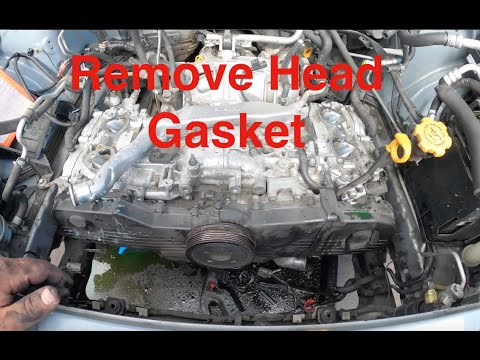 How to Replace Headgaskets on a 2006 Subaru Forester