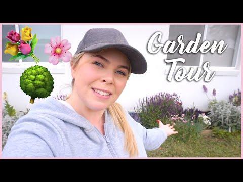 Garden Tour Vlog Spring - Cottage Garden