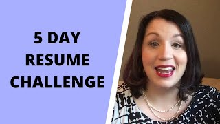 Resume Challenge
