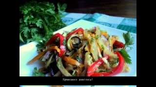 Салат из овощей по корейски