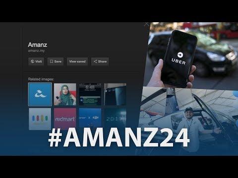 #Amanz24 - Ura-ura Uber & Grab, Twitter Mac Ditamatkan, Aplikasi Teksi-Helikopter Akan Hadir
