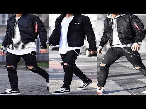 MEN FASHION 2018/2019 (Swag style/Hair Style/New LOok) HD