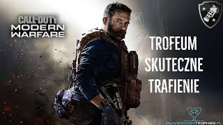 Call of Duty Modern Warfare - Trofeum Skuteczne trafienie - Good Effect on Target Trophy