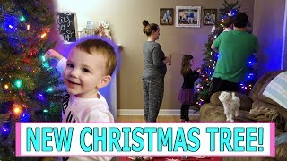 christmas-tree-decorating-2018-setting-up-our-new-tree-vlog-mommy-etc