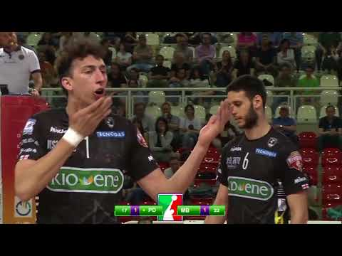 Gli highlights di Kioene Padova - Gi Group Monza 2-3