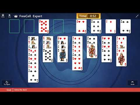 Download Microsoft Solitaire Collection Freecell Expert