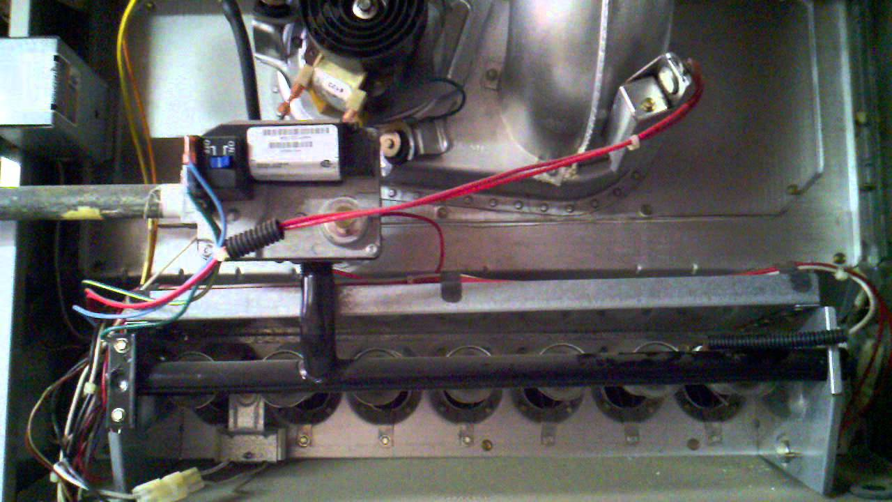 Furnace not working : no gas [SOLVED] - YouTube
