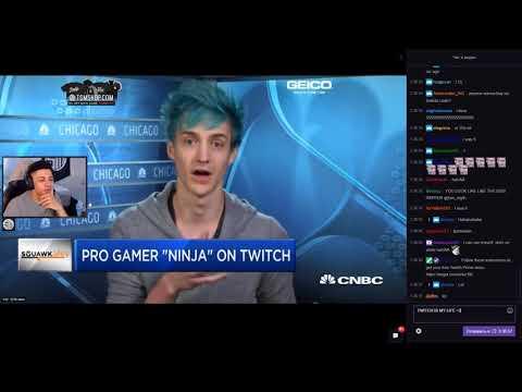 Myth reacts to Ninja on news