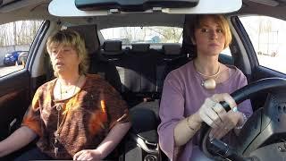 Практическое занятие по вождению в Автошколе Смольный.