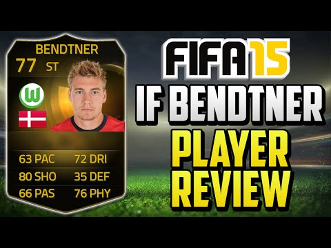 FIFA 15 IF Bendtner Player Review (77) w/ In Game Stats & Gameplay - Fifa 15 Player Review