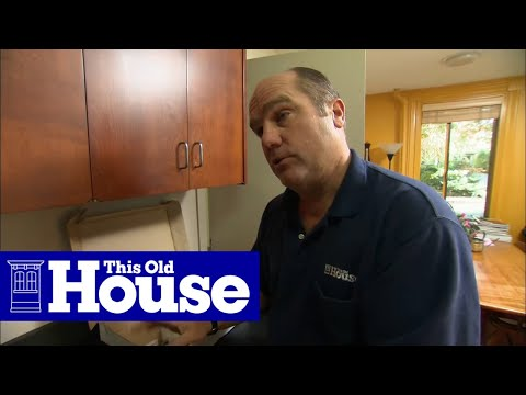 How To Install A Pull Out Kitchen Faucet This Old House Youtube