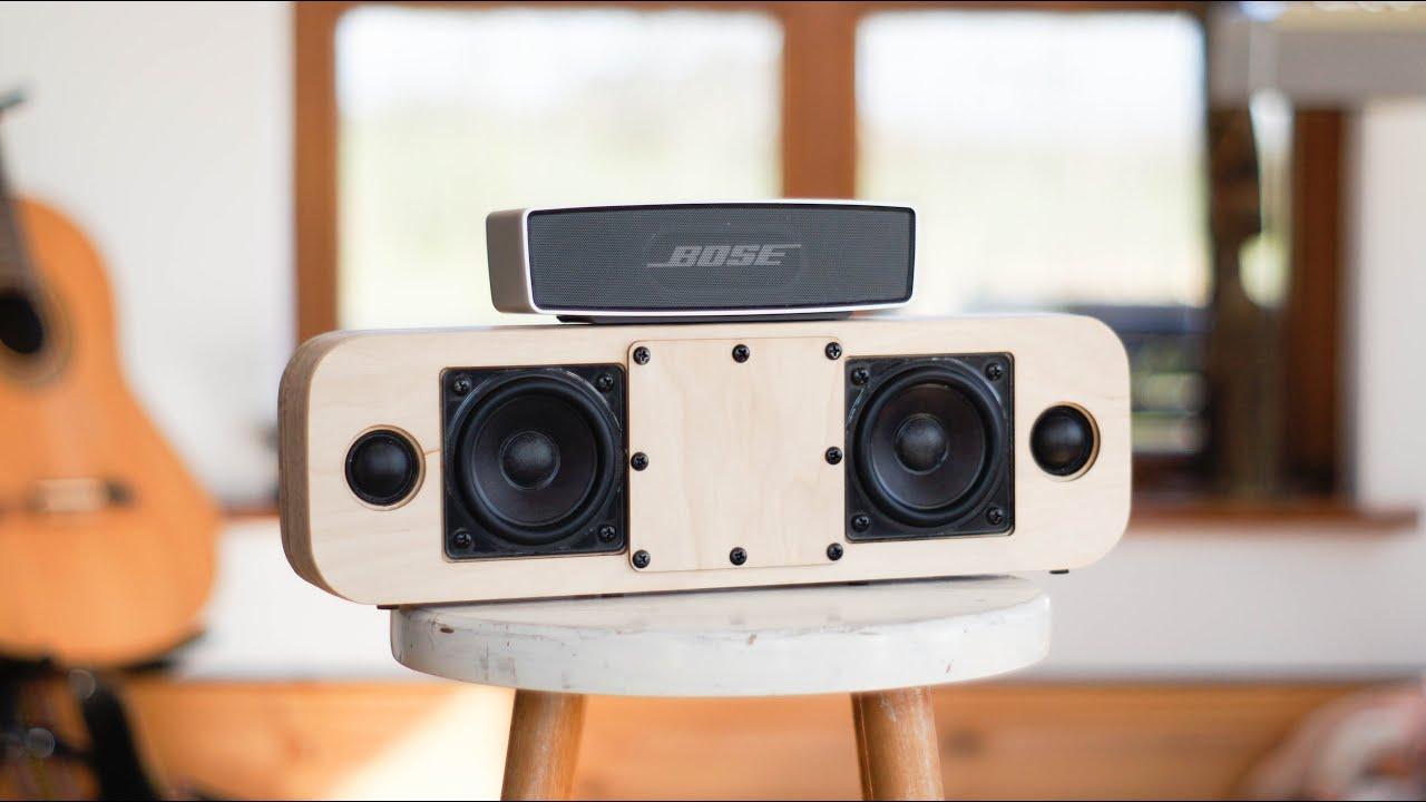 DIY Speaker Vs. Bose Soundlink Mini - YouTube