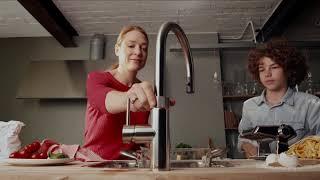 Nu med hele 5 slags vand i én hane - Quooker CUBE køleenhed giver den kogende vandhane nye vandtyper thumbnail