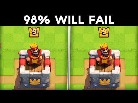 ONLY a GENIUS CAN SPOT THE DIFFERENCE! | Clash Royale