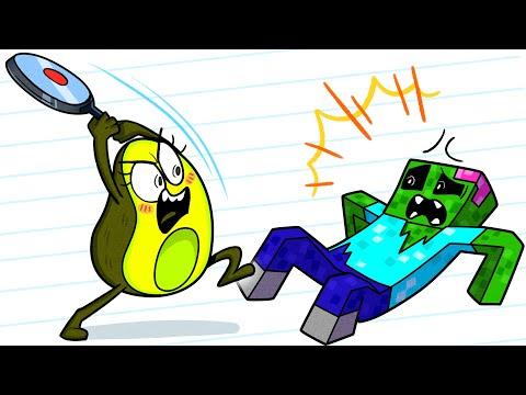Vegetables Prevent Zombie Apocalypse Minecraft