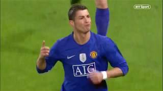 Cristiano Ronaldo at his best! Arsenal vs Manchester United (1-3) Champions League highlights