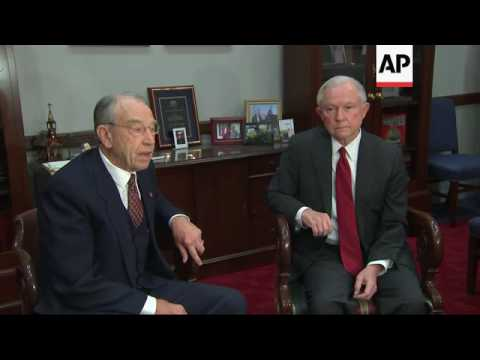 Grassley Plans Quick Hearing on Trump's AG Pick