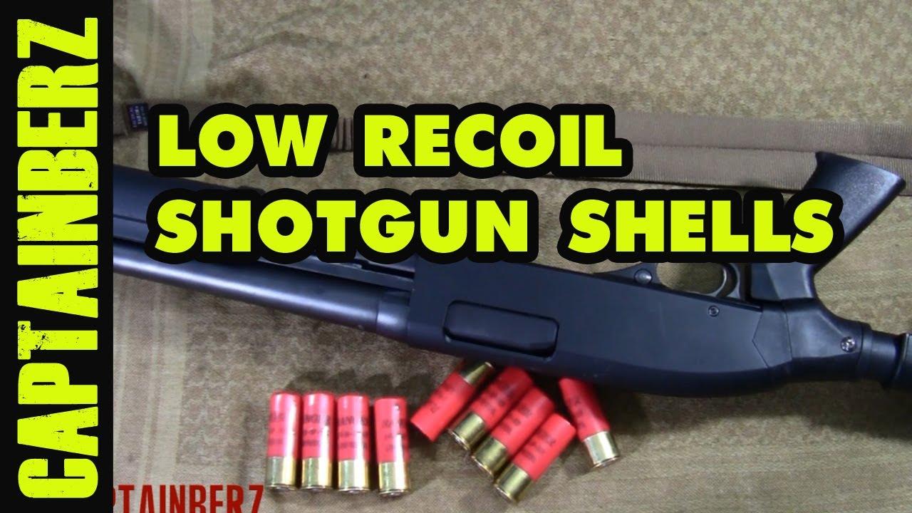 Low Recoil Shotgun Shells