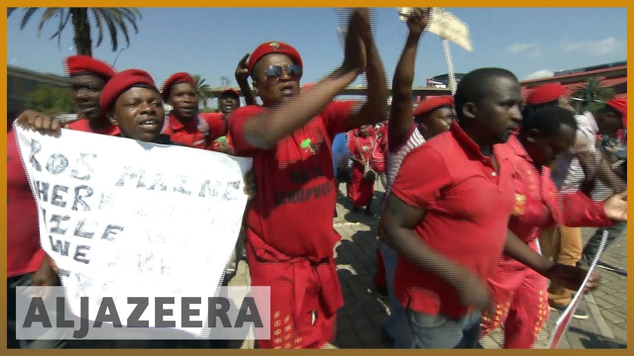 South Africa's opposition EFF rises in polls l Al Jazeera English
