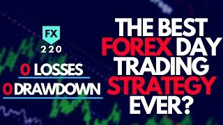 Live Trading  - Is This The Best Forex Day Trading Strategy EVER? (NO LOSSES/0 DRAWDOWN)