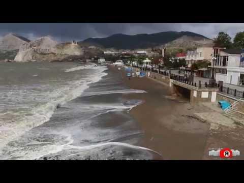 судак наводнение видео