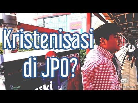 Membongkar Kristenisasi di JPO Margo Depok: Takut Kamera!