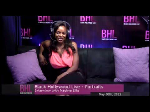 Portraits w Nadine Ellis  May 10 2013  Black Hollywood Live