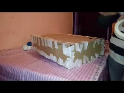 Piñata Bob Esponja Pirata Estructura 1ra Parte