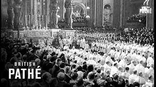 Pope John Crowned (1958)