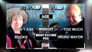 Rob Ford vs. Margaret Atwood (Air Farce New Year