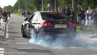 Supercar Accelerations + DONUTS!! - M6 GT3, Aventador Akrapovic, GT2 RS, Carrera GT, M4 DTM etc!