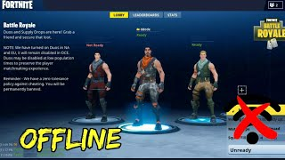 How to play Fortnite like game offline in our android device.. || 100% working || English/Hindi