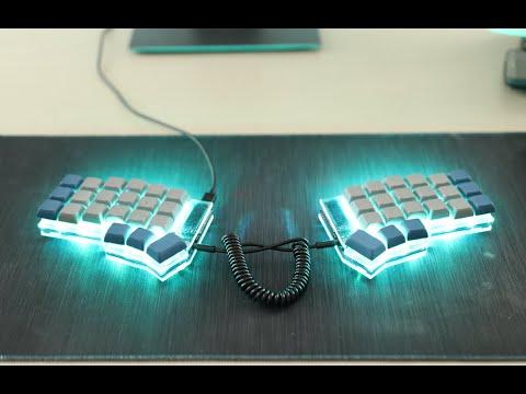 El mejor teclado mecánico para programar | corne keyboard