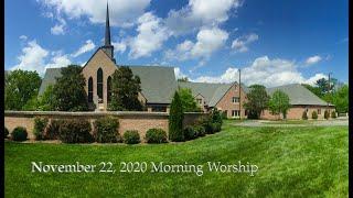 November 22 Morning Worship