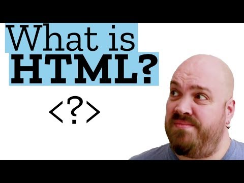 What's HTML And How Does It Work? | Web Demystified, Episode 1