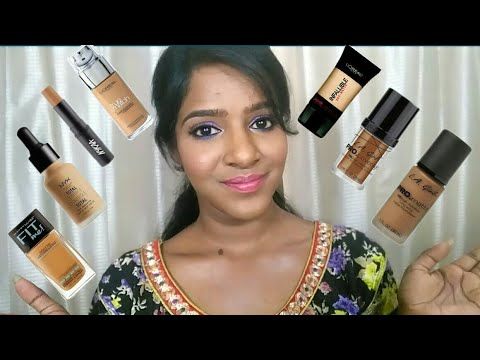 Foundations For Dark Skin Available In India!💖