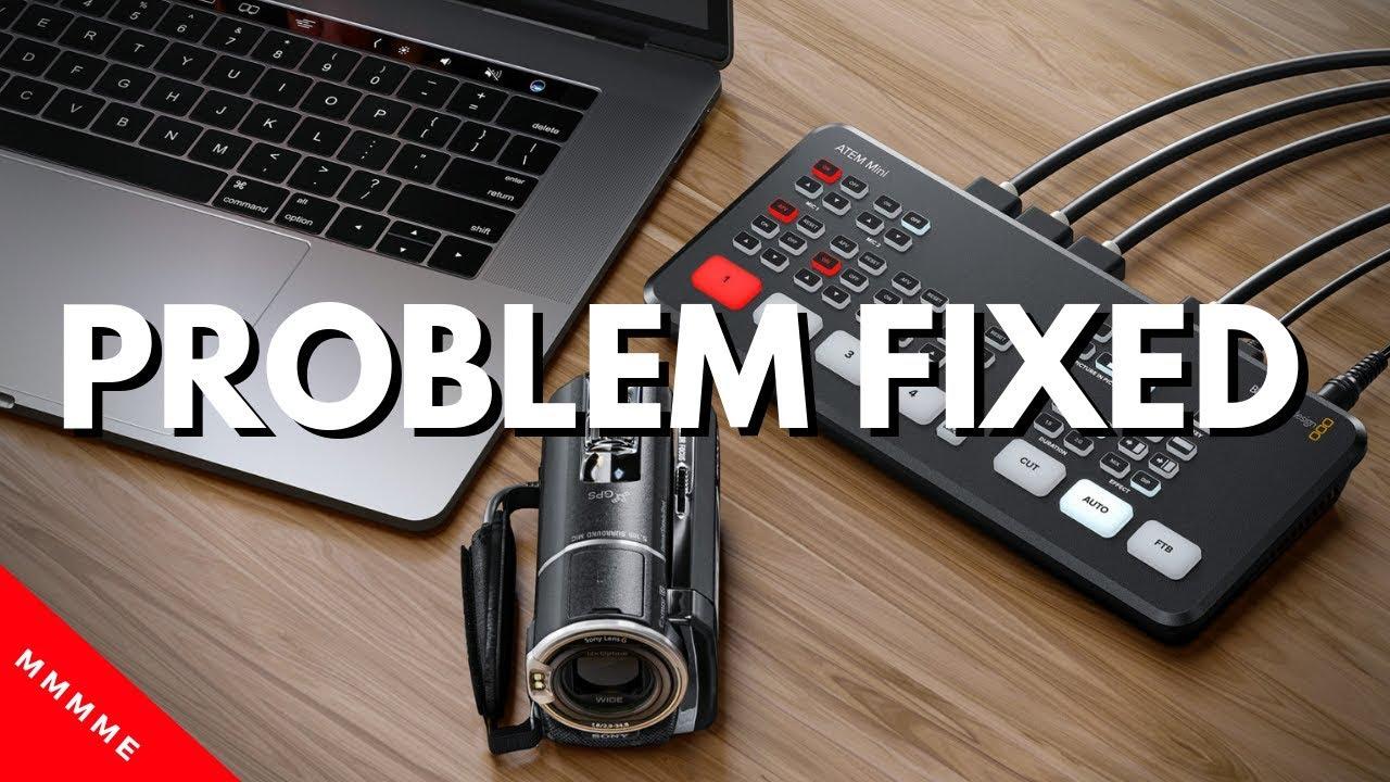 Old Blackmagic Design Atem Mini Multiview Fixed Youtube