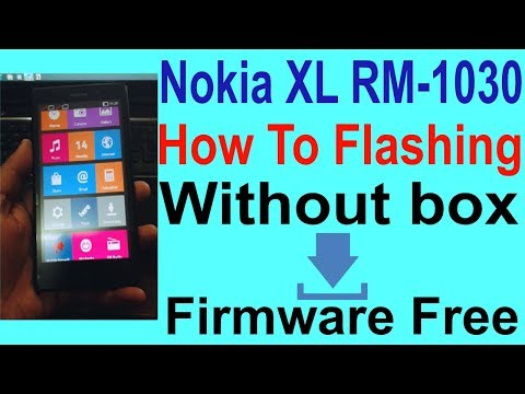 How To Flashing Nokia XL RM-1030 Without box.