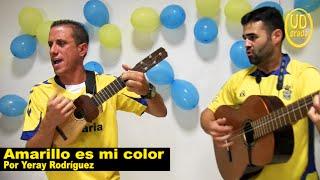 """UD 2X39 """"Amarillo es mi color"""", por Yeray Rodríguez (Afición UD Las Palmas)."""