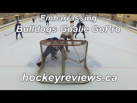 Embarrassing Game Wearing The Vaughn SLR2 Pro Carbon Pro Return, Bulldogs Hockey Goalie GoPro