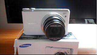 Samsung WB350F Smart Camera Unboxing/Review/Test (1080p Smart Camera)