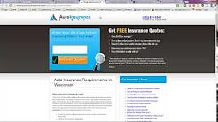 Auto Insurance Companies in Wisconsin
