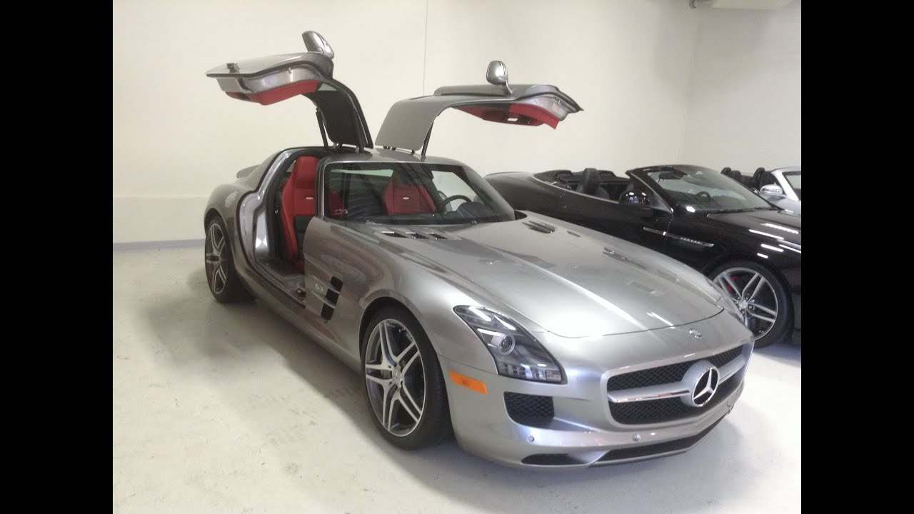 2011 mercedes benz sls amg alubeam silver youtube. Black Bedroom Furniture Sets. Home Design Ideas